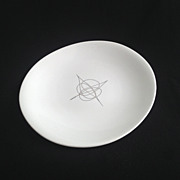 """Fantasy"" Amorphic Dinnerplate by Eva Zeisel for Hallcraft"