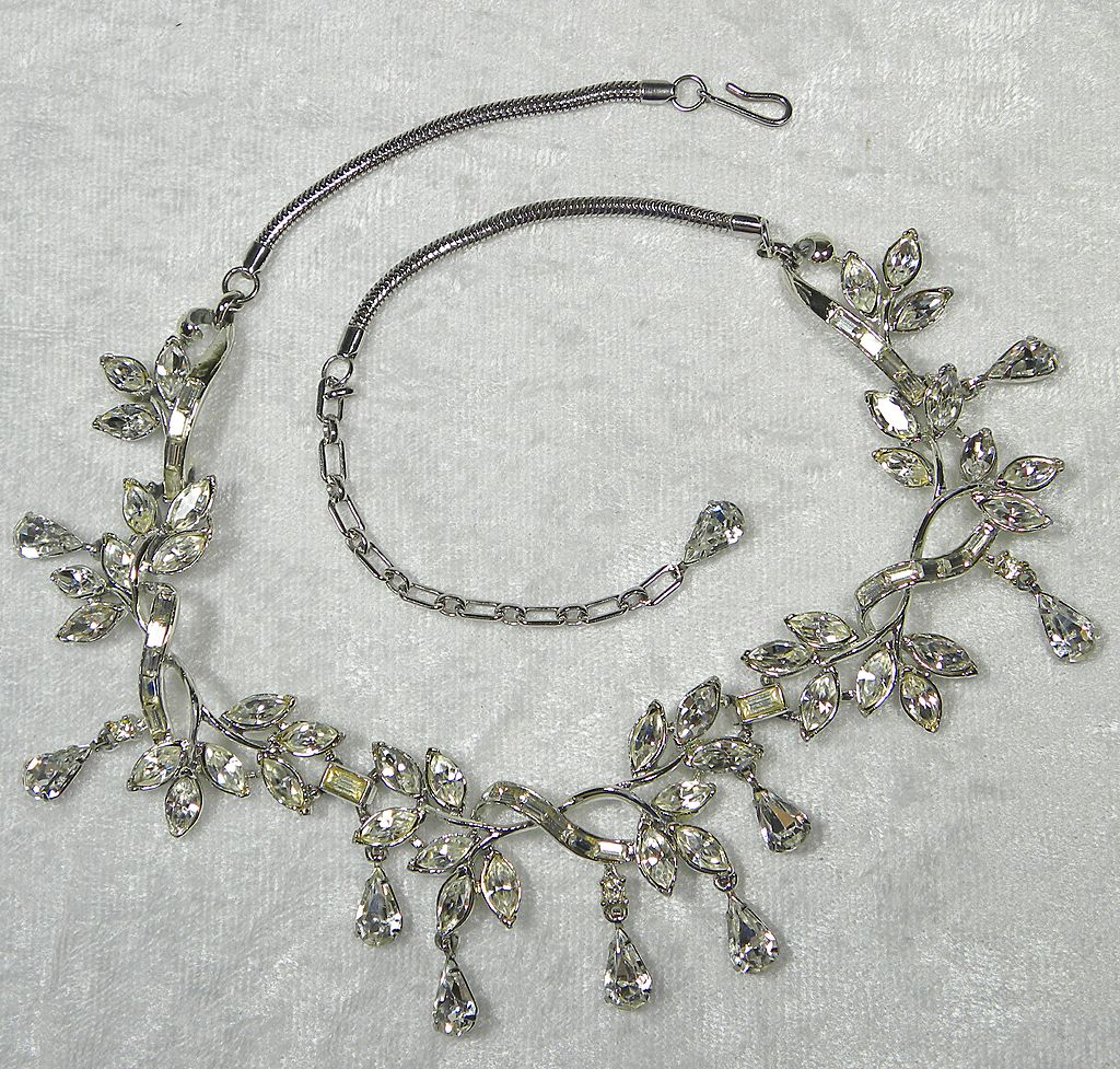 Rhinestone Costume Jewelry - Collector Information | Collectors Weekly