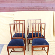 Edwarian/English Hepplewhite  12 Dinning Chairs, 2 Arms, 10 Sides Circa 19th