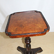 Authentic Regency  Fruitwood and Rosewood Small Side Table, Circa1920s