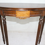 French Louis XV Walnut Console Table, Circa 1920s'