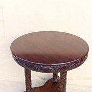 Classical/Empire Mahogany Center Table, Albany, New York, Circa 1840s'