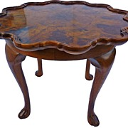 Queen Ann side table ,Turn of the century.