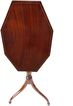 19th Century Plum Mahogany Tilt Top Table