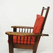 Child's Recliner Chair, Mission Style c. 1915
