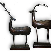 Decorative Gazelle Statues- Arts & Crafts