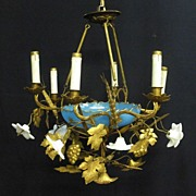 Decorative Italian Chandelier, c. 1930