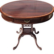 Turn of the Century, English Center Table