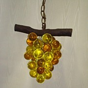 1950-60's era Lucite Grapes Lamp