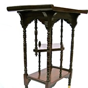 Hungzinger Style Side Table, 19th C