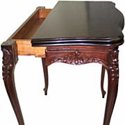 French  game table 19th C.
