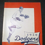 1950 Brooklyn Dodgers Year Book