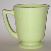 McKee Seville Yellow Large  Four Cup Measuring Cup