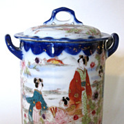 Geisha Girl Condensed Milk Covered Jar