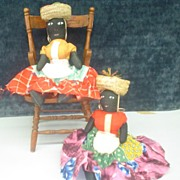 "Jamaica ""Mammy"" Dolls (2)"