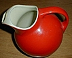 Hall Red Jug Pitcher