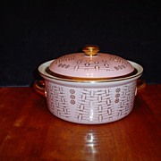 "REDUCED Hall ""Basket"" Lidded Casserole"