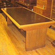 Mission Style Conference Table