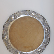 Johnson, Durban & Co. Silver Plate Bread Board