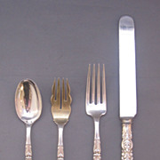 Tiffany & Co 'Florentine' Flatware Pieces