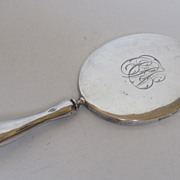 1911 Sterling Silver Purse Mirror