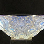 Lalique Opalescent Bowl - Bulbes No. 2