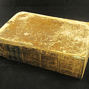 19th c. Ainsworth's English & Latin Dictionary by Thomas Morell