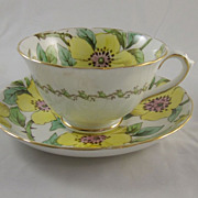 TUSCAN Bone China Tea Cup & Saucer