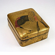 Japanese Lacquer Kobako, or Incense Box, Edo period, 18th c.?