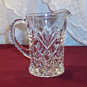 Anchor Hocking Prescut Pineapple Pitcher (Creamer)