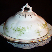 Alfred Meakin Windermere Round Butter Doomed Lid