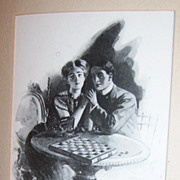 Early 1900's Romantic Illustration by William Belfour Ker : No. 532 Belfour Ker Series