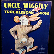 ! Uncle Wiggily and the Troublesome Boys ~ 1943; 10 STORIES