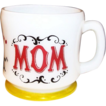 Hazel Atlas Gay 90's MOM Coffee Mug