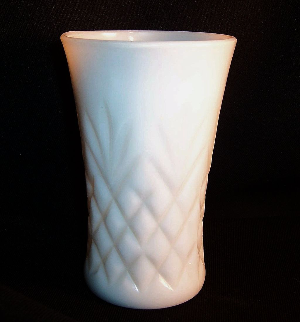 Anchor Hocking Moonstone Pattern Glass