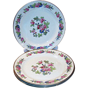 SET of 4: Laughlin Bristol Dinner Plates