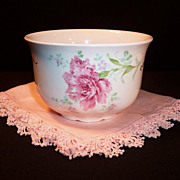 Antique Homer Laughlin Hudson Pink Carnation Bowl