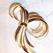 Signed Trifari Brooch