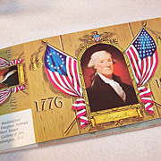 SALE Vintage Collection Book of Patriotic Post Cards