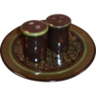 Franciscan Madeira Earthenware  Salt & Pepper Set
