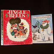 Vintage Children's Christmas Books
