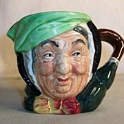 "Royal Doulton: Character Jug Sairey Gamp  Backstamp ""A"""