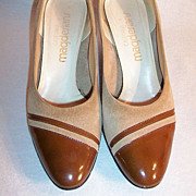 Size 5 1/2 Pumps: Vintage California Magdesians