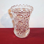 Windsor Glass Toothpick Holder