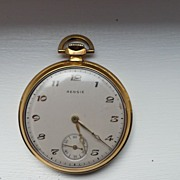 REDUCED Paul V.Eisner / Rensie Swiss Made Pocket Watch 17 jewels  cir. 1943