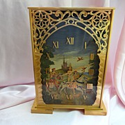 SOLD French LeCoultre Brass Clock cir. 1930s'