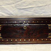 19th Century Regency Writing Slope Lap Box Desk