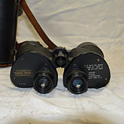 World War 2  US Navy Binoculars  Anchor Optical