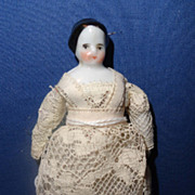 Early Unusual China Doll House Doll Child