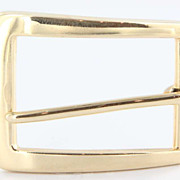 Estate Tiffany & Co. 14 Karat Yellow Gold Belt Buckle Fine Designer Jewelry Estate